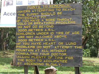 Mt Kilimanjaro 2011 Climb to Fight Breast Cancer