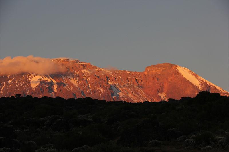 Sunset on the peak - day 2
