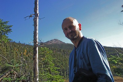 Tom on summit of Gray