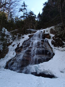 The waterfalls were just spectacular with the snow melting.