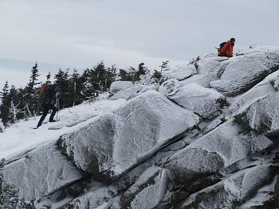 Doug and Jon almost on summit cone!