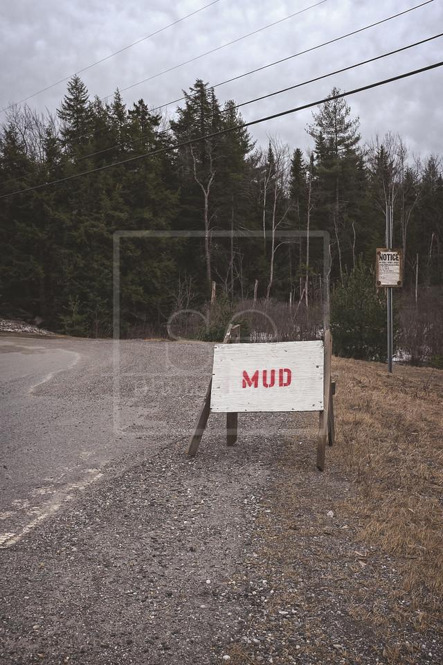 Mud Ahead