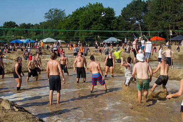 Mud Volleyball Cleveland, Ohio 2016