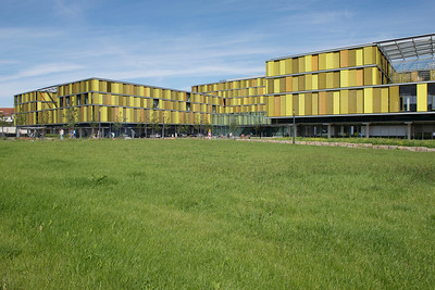 Außenansicht des Rems-Murr-Klinikums Winnenden von Südosten. Foto: Burghard Müller-Dannhausen