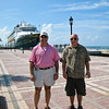 Key West with Disney Magic.  Brings back fond memories of cruise on Disney Wonder with the Sungur family.
