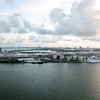 View of Port of Miami from the room.