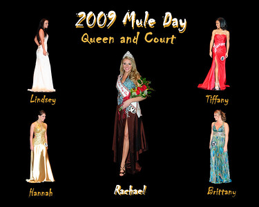 MD09Q- Queen & Court