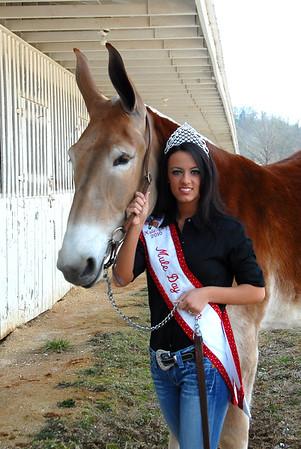 2010 Mule Day Queen & Court