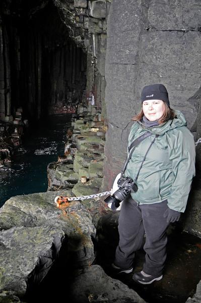 """Fingal's Cave, Staffa 12/04/2012  <DIV ALIGN=RIGHT><i><a class=""""nav"""">© Felipe Popovics</a></i></DIV>"""