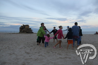 A family dances as a band plays  at the Nauset Beach bandstand.  PHOTO GALLERY:  Celebrate Our Waters  Celebrate Our Waters took place at various Orleans venues Saturday and Sunday.  Talks, walks and boating programs focusing on the town's waters and heritage  were held throughout the weekend.. 11 / 19  WickedLocal.com/CapeCod September 26, 2011COMMUNITY NEWSPAPER COMPANY