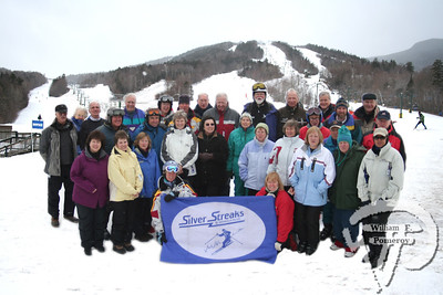 Heart of New Hampshire Magazine2006 / 2007  Seniors on Skis The Silver Streaks page 85 Waterville Valley Silver Streaks