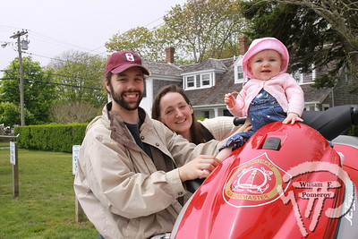 Chris and Laurel Leary accompany their 11-month-old daughter Johanna to examine the Chatham Harbormaster's jet-ski. PHOTO GALLERY:  USCG Station Chatham hosts open house  Members of the U.S Coast Guard Station Chatham hosted its first annual open house Saturday afternoon, May 21, 2011.  1 / 8 WickedLocal.com/CapeCod May 25, 2011COMMUNITY NEWSPAPER COMPANY