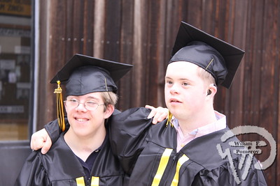 Josh Monger and Emmett Bilvo pose for a photoprior to the commencement exercises.PHOTO GALLERY:  Nauset Regional High School graduation Nauset Regional High School graduated 236 seniors Sunday. 7 / 9 WickedLocal.com/CapeCod June 15, 2010COMMUNITY NEWSPAPER COMPANY