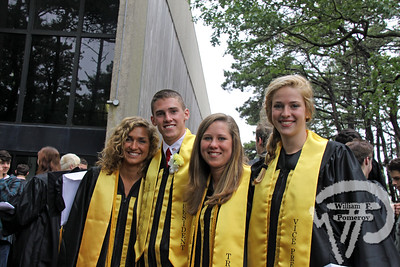 Class officers, from left,secretary Lauren Cowing, president Brandon Bausch,treasurer Heidi Mead and vice president Amanda Bartells.PHOTO GALLERY:  Nauset Regional High School graduation Nauset Regional High School graduated 236 seniors Sunday. 9 / 9  WickedLocal.com/CapeCod June 15, 2010COMMUNITY NEWSPAPER COMPANY