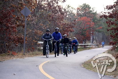 TRAIL TIME Dennis-based Boy Scout troop 78 cycles along the rail trail in Harwich  to earn merit badges.  Harwich Oracle November 21, 2012 front page