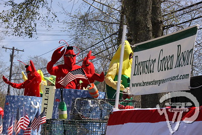 The Brewster Green Resort won 'Best of Show'  during the annual Brewster in Bloom Parade April 29.