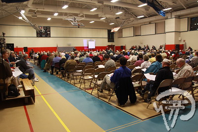 Voters approve repairs to historic buiding, Harwich town meeting began Monday at the Harwich Community Center. Harwich Oracle May 4, 2011 front page