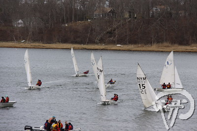 Sunny sailThe Nauset sailing team,under the direction of coach Warren Silver,practiced in Town Cove in Orleans last week. The Cape Codder APRIL 2, 2010page 35