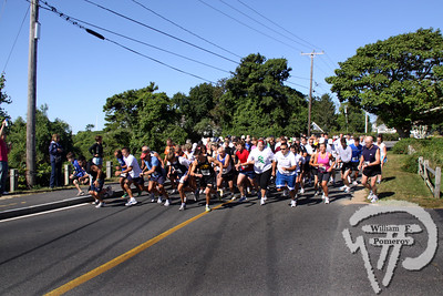 And they're off!Runners got off to a quick start during last weekend's Nun Runto benefit Dream Day of Cape Cod.  Brandon Bausch wonthe 5K race with a time of 17.29.The top female finisher was Kate Klim with a time of 21:26. The Cape Codder SEPTEMBER 25, 2009page 35