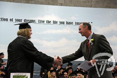 Charlie Piltzecker was one of 236 Nauset graduatesto shake principal Tom Conrad's hand. The Provincetown Banner JUNE 17, 2010page 67