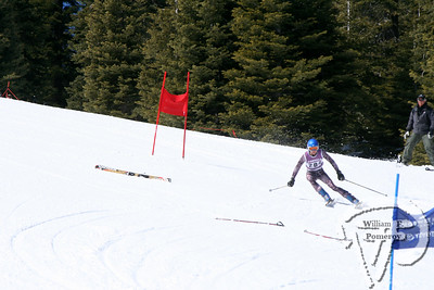 After the skier in front of him crashed, Chase Shirley decides to jumpover a pair of ski poles left in the middle of the course.  Shirley went onto take sixth pace overall for Portola.By Shannon Morrow Feather Publications MARCH 12, 2008page 1-C