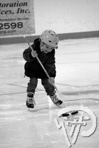 Stick skillsFour-year-old Brewster resident Brittney Beaulieushows off her puck-handling skills during the USA HockeyLearn to Play Hockey program at the Charles Moore Arenain Orleans on Saturday. The Cape Codder FEBRUARY 5, 2010page 37