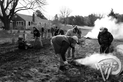 Rotary Club of Nauset members made their presence feltwith tasks of burning, raking, clipping and Rototilling. The Cape Codder APRIL 2, 2010page 3