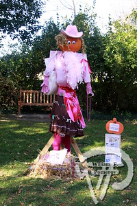 """Park exhibitFancy Nancy from Where the Sidewalk Ends Bookstore was on display  with other """"Pumpkin People""""in Kate Gould Park on Saturday.  The ChathamMerchants Association sponsors the event, which runs through Oct. 31. The Cape Codder OCTOBER 29, 2010page 19"""