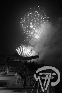 A grand fireworks display at Rock Harborin Orleans on July 3 lights up the sky. The Cape Codder JULY 10, 2009page 13