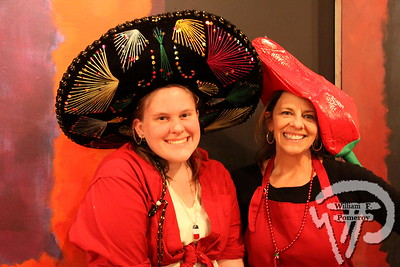 Chili servers Lizzie plus Cheryl Margolis.