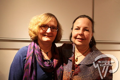 Fellow poets Carole Stasiowski plus Lauren Wolk.