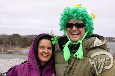 Amanda Kirker from Dennis  and Ben Thompson of Hyannis. SEEN ON SCENE:  Cape Cod St. Patrick's Day Parade  Large crowds were drawn along both sides of Route 28 this past Saturday  in West Dennis spilling into South Yarmouth, all to help celebrate  the 8th annual Cape Cod St. Patrick's Day Parade.   8 of 21  WickedLocal.com/CapeCod March 11, 2013 COMMUNITY NEWSPAPER COMPANY