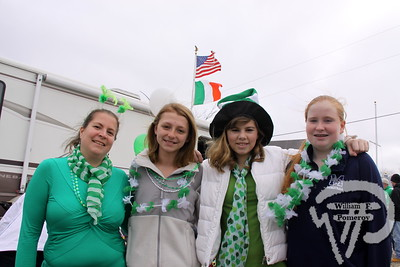 Stefanie Speakman, Alex Wall, Shauna Speakman and Katie Dever,  all from Harwich. SEEN ON SCENE:  Cape Cod St. Patrick's Day Parade  Large crowds were drawn along both sides of Route 28 this past Saturday  in West Dennis spilling into South Yarmouth, all to help celebrate  the 8th annual Cape Cod St. Patrick's Day Parade.   18 of 21  WickedLocal.com/CapeCod March 11, 2013 COMMUNITY NEWSPAPER COMPANY