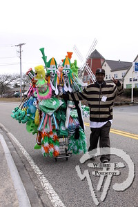 Merchandiser  Joe Robinson. SEEN ON SCENE:  Cape Cod St. Patrick's Day Parade  Large crowds were drawn along both sides of Route 28 this past Saturday  in West Dennis spilling into South Yarmouth, all to help celebrate  the 8th annual Cape Cod St. Patrick's Day Parade.   10 of 21  WickedLocal.com/CapeCod March 11, 2013 COMMUNITY NEWSPAPER COMPANY