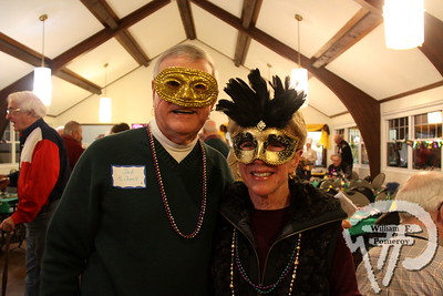 Newcomer president  Jack and Suzy McDowell. SEEN ON SCENE:  Mardi Gras Party  The Chatham Harwich Newcomers Club defied the weather on Sunday, February 10,  and held a Mardi Gras Party at The Christ Episcopal Church in Harwich Port.  Great fun  was had by all as they shared their recent experiences with super storm Nemo.  Chatham  Harwich Newcomers established in 1978, has been a haven for folks in the two towns  to expand their network of social friends and gather more than 20 individual activities.   The Club currently has 450 members and lives by the motto:  We Volunteer - We Contribute  - We Have Fun.  See us on the web at  Chatham-Harwich Newcomers Club   4 / 13   WickedLocal.com/CapeCod February 13, 2013 COMMUNITY NEWSPAPER COMPANY