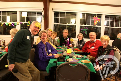 President Jack McDowell  plus members of the Chatham Harwich Newcomers Club. SEEN ON SCENE:  Mardi Gras Party  The Chatham Harwich Newcomers Club defied the weather on Sunday, February 10,  and held a Mardi Gras Party at The Christ Episcopal Church in Harwich Port.  Great fun  was had by all as they shared their recent experiences with super storm Nemo.  Chatham  Harwich Newcomers established in 1978, has been a haven for folks in the two towns  to expand their network of social friends and gather more than 20 individual activities.   The Club currently has 450 members and lives by the motto:  We Volunteer - We Contribute  - We Have Fun.  See us on the web at  Chatham-Harwich Newcomers Club   3 / 13   WickedLocal.com/CapeCod February 13, 2013 COMMUNITY NEWSPAPER COMPANY