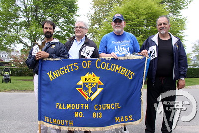Knights of Columbus,  Falmouth Council no. 813. SEEN ON SCENE:  Cape Abilities 5K  Despite an early slight rain, more than 500 runners and walkers  came out Saturday morning to take part in a 5K Walk/Run in downtown  Hyannis. Exceeding their goal in raising over $50,000 for Cape Abilities,  a program which has been supporting people with disabilities across  Cape Cod for over the past 40 years.  9 / 17   WickedLocal.com/CapeCod May 13, 2013 COMMUNITY NEWSPAPER COMPANY