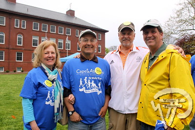 Volunteers  at Cape Abilities. SEEN ON SCENE:  Cape Abilities 5K  Despite an early slight rain, more than 500 runners and walkers  came out Saturday morning to take part in a 5K Walk/Run in downtown  Hyannis. Exceeding their goal in raising over $50,000 for Cape Abilities,  a program which has been supporting people with disabilities across  Cape Cod for over the past 40 years.  15 / 17   WickedLocal.com/CapeCod May 13, 2013 COMMUNITY NEWSPAPER COMPANY