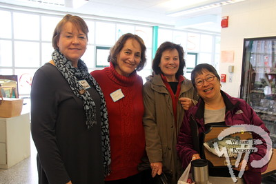 Greenhouse Project chairman Ann Mahoney, NRMS principal Maxine Minkoff,  Ann Tefft and former school committee member Marie Enochty. SEEN ON SCENE:  Nauset Greenhouse Project  The Nauset community was on hand for a community yard sale  to benefit the Greenhouse Project.  9 of 9   WickedLocal.com/CapeCod January 29, 2013 COMMUNITY NEWSPAPER COMPANY