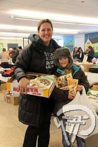 Karyn Gaynor and Hannah Rose, 10,  each of Orleans. SEEN ON SCENE:  Nauset Greenhouse Project  The Nauset community was on hand for a community yard sale  to benefit the Greenhouse Project.  7 of 9   WickedLocal.com/CapeCod January 29, 2013 COMMUNITY NEWSPAPER COMPANY
