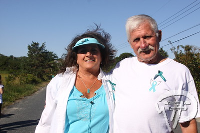 Lorraine and Fred Boyden  from Walpole, Mass.  SEEN ON SCENE:  girlygirl P.A.R.T.S. fourth annual 5K Run/Walk for Ovarian Cancer girlygirl P.A.R.T.S. fourth annual 5K Run/Walk for Ovarian Cancer attracted over 900 participants to the Sandwich Boardwalk at Town Neck Beach this past Saturday. To learn more and/or donate to this cause, please visit them on-line at girlygirlParts.net Pre-screening Awareness Required To Silence... Ovarian Cancer brought together love, hugs and exercise!   4 of 25   WickedLocal.com/CapeCod September 9, 2013 COMMUNITY NEWSPAPER COMPANY