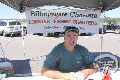 Captain David Stamatis  at Billingsgate Charters, LLC. SEEN ON SCENE:  Wellfleet  HarborFest  Wellfleet HarborFest and Nautical Flea Market kicked-off  another summer season upon the Eastern end to the town pier  on Saturday. Along with multiple live entertainers, vendors,  local foods, auctions and items frequently raffled, the third  annual festival showcased a waterfront community under  the ever shining sun.  13 / 20   WickedLocal.com/CapeCod June 3, 2013 COMMUNITY NEWSPAPER COMPANY
