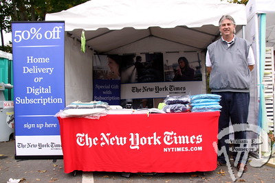 Michael Cogburn,  sales at New York Times.  SEEN ON SCENE:  Wellfleet  OysterFest  Check out our photos  from this year's OysterFest.  2 of 15   WickedLocal.com/CapeCod October 23, 2013 COMMUNITY NEWSPAPER COMPANY