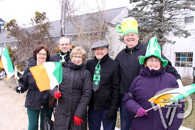 Couples to the Fraulo, Pizzi and Reichelt family,  all visiting from Connecticut. SEEN ON SCENE:  Cape Cod St. Patrick's Day Parade  Large crowds were drawn along both sides of Route 28 this past Saturday  in West Dennis spilling into South Yarmouth, all to help celebrate  the 8th annual Cape Cod St. Patrick's Day Parade.   4 of 21  WickedLocal.com/CapeCod March 11, 2013 COMMUNITY NEWSPAPER COMPANY