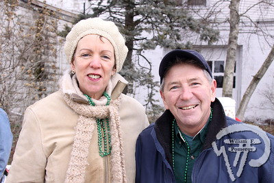 Members of The O'Demellos band  Mary Ann and Frank DeMello. SEEN ON SCENE:  Cape Cod St. Patrick's Day Parade  Large crowds were drawn along both sides of Route 28 this past Saturday  in West Dennis spilling into South Yarmouth, all to help celebrate  the 8th annual Cape Cod St. Patrick's Day Parade.   2 of 21  WickedLocal.com/CapeCod March 11, 2013 COMMUNITY NEWSPAPER COMPANY