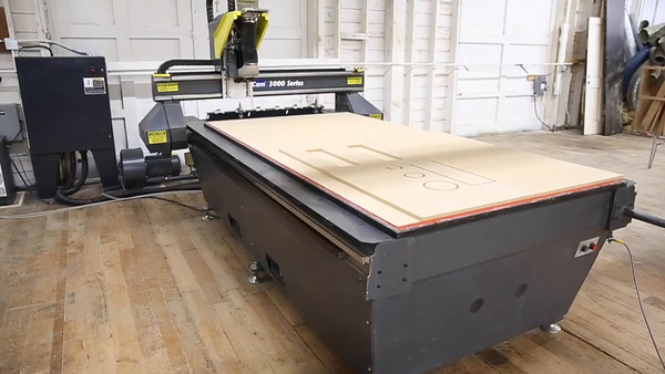 MultiCam SERIES 3000 CNC - Video
