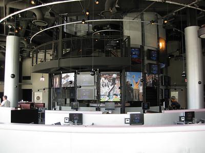 Long Overview of CBS Scene