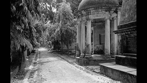 Afterlife - Park Street Cemetery, Calcutta