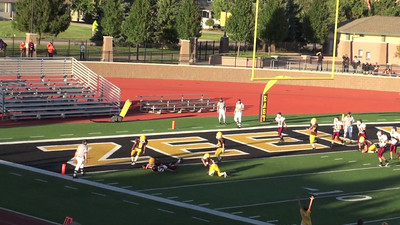 Blake's game-saving tackle! The game ended in a tie, but if #82 had made it into the end  zone we would have lost.