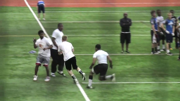 Brandon 7on7s and 1on1s